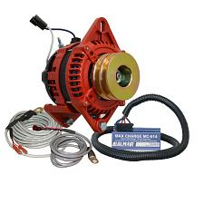 "Balmar Alternator 3.15"" Dual Foot Saddle Dual V Pulley Regulator"