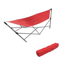 Stalwart Portable Hammock with Frame Stand and Carrying Bag - Re