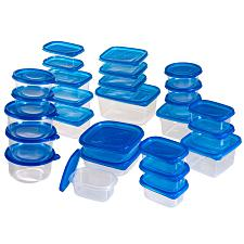 54 piece Food Storage Container Set with Air Tight Lids