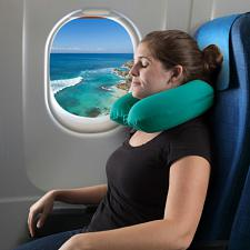 Memory Foam Travel Pillow- Round U-Shaped Neck/Head Support for