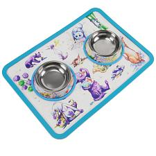 Cat-titude Cat Bowls and Mat ATAL-002
