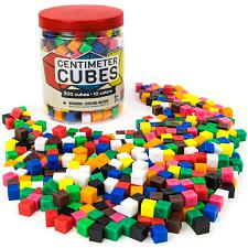500 Centimeter Cubes with Storage Container ESUP-001