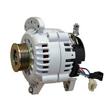 "Balmar Alternator 100 Amp 12V 3.15"" Dual foot Saddle Single K6 P"