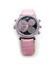 NightWatchPink8gb: Pink Watch with Night Vision - OPEN BOX ITEM