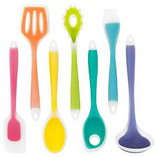 7 Piece Silicone Utensil Set KUTN-001