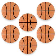 "6 Mini Basketballs, 2.5"" SLAC-203"