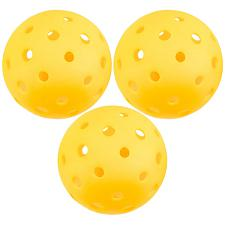 3-Pack of Pickleball Balls, Goldenrod Yellow SPIC-001