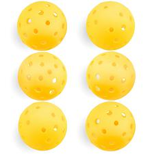 6-Pack of Pickleball Balls, Goldenrod Yellow SPIC-002