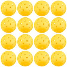 12-Pack of Pickleball Balls, Goldenrod Yellow SPIC-003