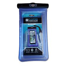 "WOW Watersports H2O Proof Smart Phone Holder - 5"" x 9"" - Blue"