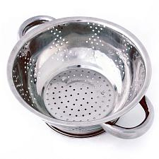 Stainless Steel Kitchen Colander- 1Qt.  KCOL-001