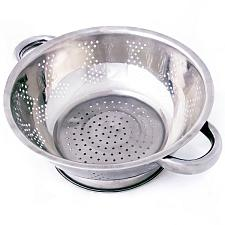 Stainless Steel Kitchen Colander- 2.5 Qt.  KCOL-002