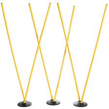 6 Agility Poles with 3 Bases SFIT-1206