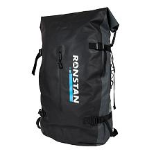Ronstan Dry Roll Top - 55L Backpack - Black & Grey