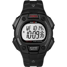 Timex IRONMAN® Classic 30 Lap Full-Size Watch - Black/Red