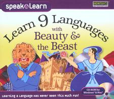 SelectSoft Publishing Learn 9 Languages with Beauty & the Beast