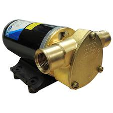 Jabsco Ballast King Bronze DC Pump with Deutsch Connector - No Reversing Switch