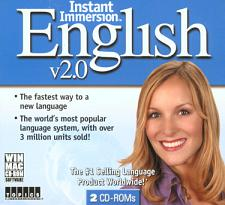TOPICS Entertainment Instant Immersion English 2.0 (French/Engli