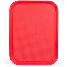 12x16 Cafeteria Tray, Red KCAF-203