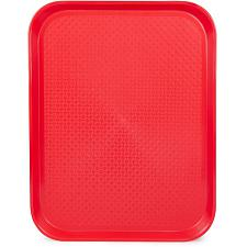 14x18 Cafeteria Tray, Red KCAF-303
