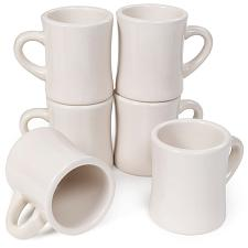 10 oz. Coffee Mugs, 6-pack KCFC-001