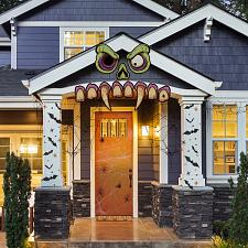 Mad Monster Face Outdoor House Decor MPAR-711