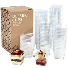 100-pack Mini Dessert Cups, 3oz. KDCT-102