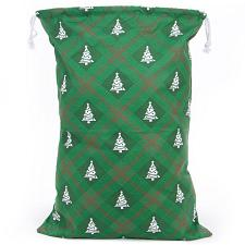 Reusable Christmas Gift Bag - Christmas Tree Giftwrap Design MBA