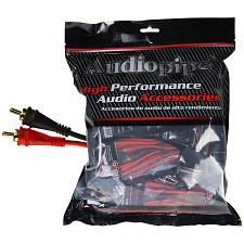 Audiopipe 12Ft Oxygen Free Rca Cable - 10Pcs Per Bag