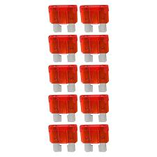 Atc Fuse 10 Amp; 10 Pack Blister; Audiopipe  Atq10A