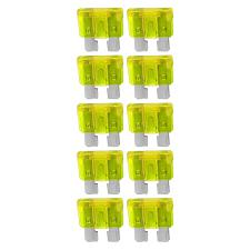 Atc Fuse 20 Amp; 10 Pack Blister; Audiopipe  Atq20A