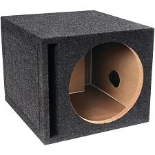 ATREND-BBOX E10SV B Box Series Single Vented Subwoofer Enclosure