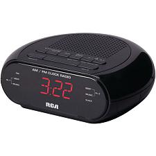 Rca Rc205 Alarm Clock Radio With Red Led And Dual Wake