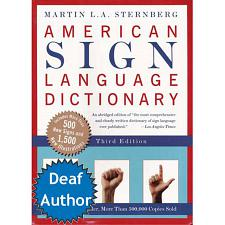 American Sign Language Dictionary Soft Cover