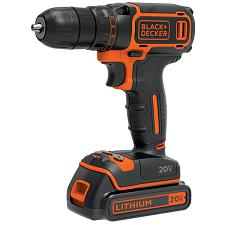 Black+Decker Bdcdd120C 20-Volt Max* Lithium Single-Speed Drill/D