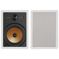 "BIC AMERICA HT8W 8"", 3-Way Acoustech Series In-Wall Speakers"