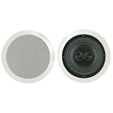 "Bic America Msr8D 8"" Dual Voice Coil Stereo Ceiling Speaker"