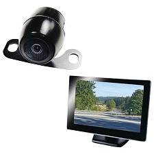 "Boyo Vtc175M 5"" Rearview Monitor With License-Plate Camera"