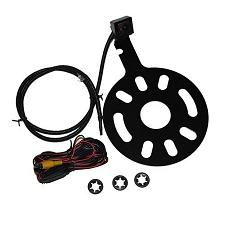 Crux Jeep Wrangler Camera Spare Tire Mount