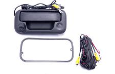 Crux Backup Camera For Select 2004-Up Ford Trucks-Tailgate Handl