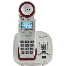 Clarity 59234.001 Dect 6.0 Extra-Loud Big-Button Speakerphone Wi