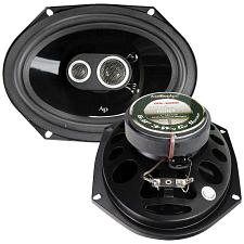 Audiopipe 6X8 3-Way Car Speakers