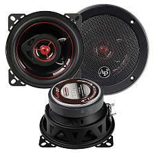 "Audiopipe Redline Speaker 4"" 2-Way (Pair) 100 Watt Pp Cone"