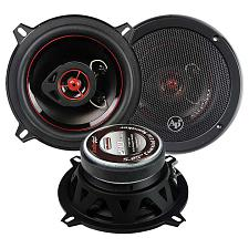 "Audiopipe Redline Speaker 5.25"" 2-Way (Pair) 200 Watt Blue Pp Co"