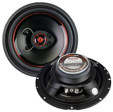 "Audiopipe Speaker 6.5"" 2-Way (Pair) 250 Watt Pp Cone"