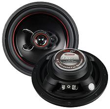 "Audiopipe Redline 6.5"" 3 Way 5 Oz Magnet Car Speaker Slim Style("