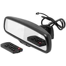 "Crimestopper Mir-Act Mir-Act 4.3"" Universal Rearview Mirror With Built-In Compas"