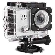 Proscan(R) Pac2000-8Gb Pdq 2-Inch Tft Lcd 720P Action Camera With 8 Gb Class 10