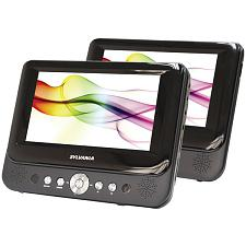 "Sylvania Sdvd8737A 7"" Dual-Screen Portable Dvd Player"
