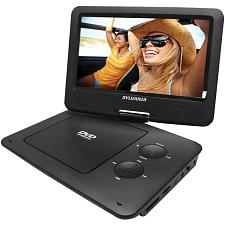 "Sylvania Sdvd9020B-Black 9"" Portable Dvd Player With 5-Hour Batt"